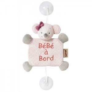 Знак Baby on board Adele & Valentine Мышка Nattou