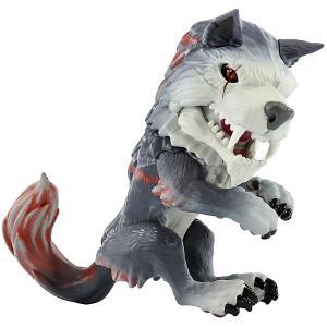 Интерактивный Волк-оборотень  Fingerlings Меченый WowWee. Цвет: серый