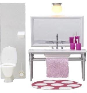 Мебель для куклы  Ванная с 1 раковиной Lundby