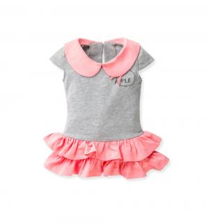 Платье , цвет: розовый/серый Flobaby