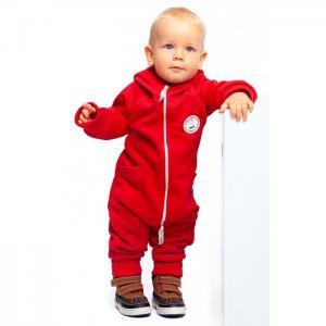 Комбинезон теплый с карманами и капюшоном Makkaroni Kids