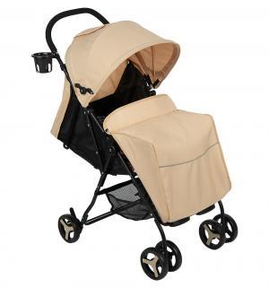 Прогулочная коляска  1008, цвет: бежевый/мокко Glory