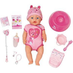 Интерактивная кукла  Baby born Девочка, 43 см Zapf Creation