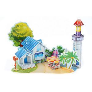 3D пазл  Дом на пляже, 39 элементов Funny