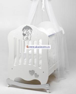 Детская кроватка  Fantasia 125х65 Bambolina