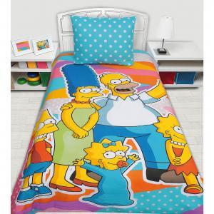 Детское постельное белье 1,5 сп. Mona Liza, Simpsons, Семейка Симсонов Мона Лиза