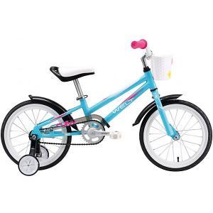 Двухколёсный велосипед  Pony 16, голубой Welt. Цвет: разноцветный