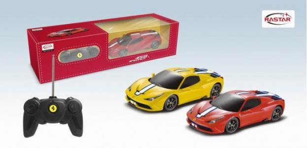 Машина на радиоуправлении Ferrari 458 Speciale A 1:24 Rastar