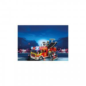 Пожарная машина со светом и звуком, PLAYMOBIL PLAYMOBIL®