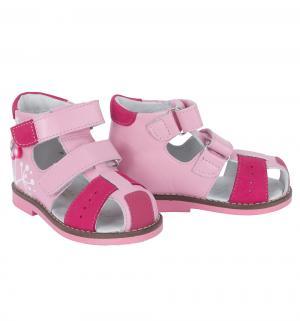 Сандалии , цвет: розовый Shagovita