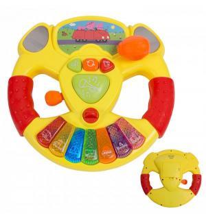 Развивающая игрушка  Свинка Пеппа Музыкальный руль 21 см Peppa Pig