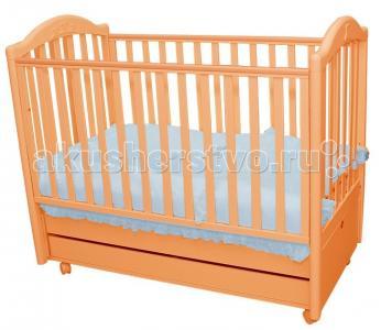 Детская кроватка  Tender продольный маятник MIBB