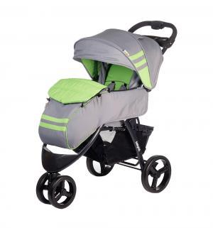 Прогулочная коляска  Voyage, цвет: серый/зеленый BabyHit