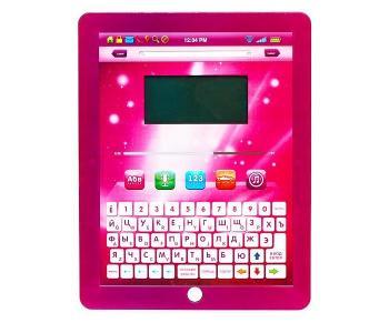 Обучающий планшет русско-английский с цветным экраном Play Smart