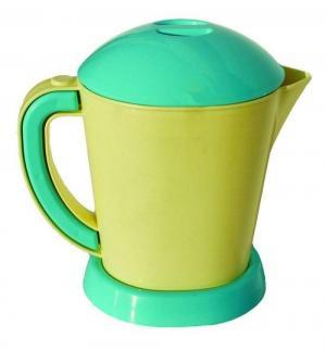 Чайник  цвет: желтый/зеленый 18 см Совтехстром