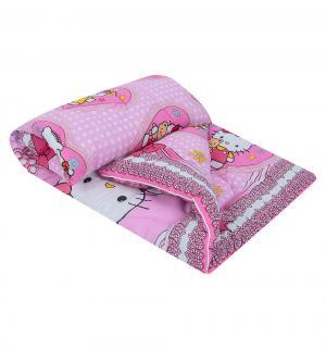 Одеяло 110 х 140 см, цвет: розовый Артпостель