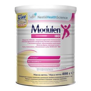 Смесь  Modulen® IBD с нейтральным вкусом 5 лет, 400 г Nestle