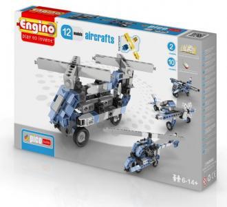 Конструктор  Eco Builds Самолеты 12 в 1 Engino