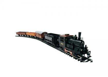 Western Train с ландшафтом Mehano