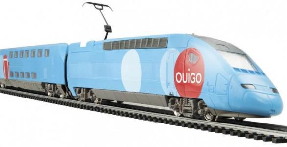 Двухэтажный TGV Ouigo Mehano