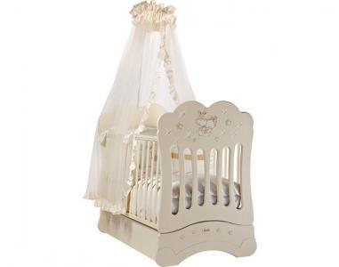 Детская кроватка  FMS Etoile продольный маятник Feretti