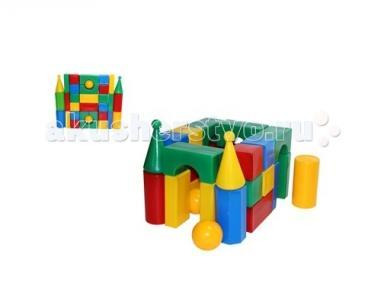 Развивающая игрушка  Строительный набор Стена-смайл (32 элемента) СВСД