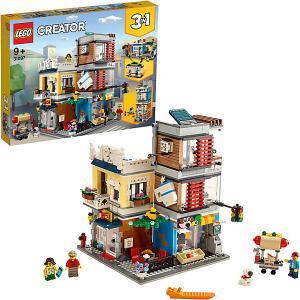Конструктор  Creator 31097: Зоомагазин и кафе в центре города LEGO