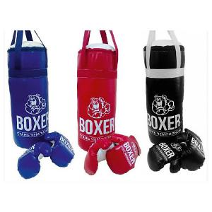 Игровой набор для бокса Боксер  №2, 40 см Лидер