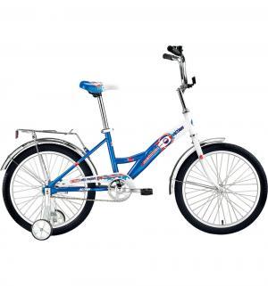Детский велосипед  City Boy 20, цвет: белый/синий Altair