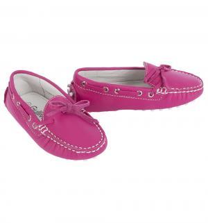Мокасины , цвет: розовый Gulliver