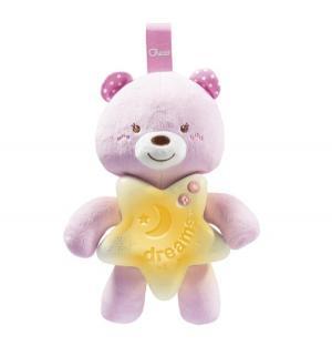 Подвеска-ночник  Медвежонок розовый Chicco