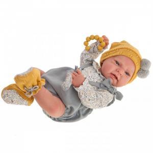 Кукла Реборн Томас в сером 40 см Munecas Antonio Juan
