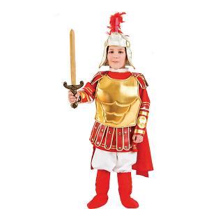 Карнавальный костюм  Римский гладиатор для мальчика Veneziano. Цвет: разноцветный