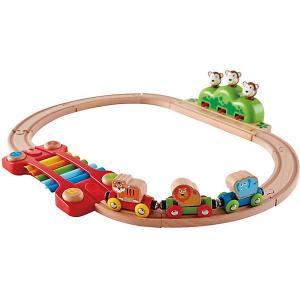 Музыкальная железная дорога Hape. Цвет: разноцветный