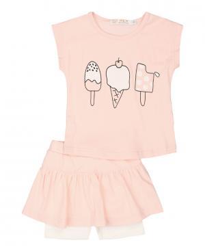 Юбка-шорты и футболка Kidly