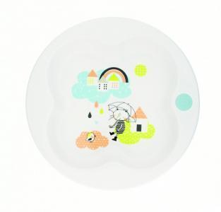 Тарелка Under  Rainbow в форме клевера Bebe Confort The