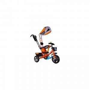 Трехколесный велосипед  Бронз Люкс, оранжевый Zilmer. Цвет: оранжевый