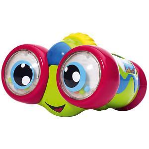 Интерактивная игрушка для малышей Chicco Бинокль. Цвет: красный/зеленый