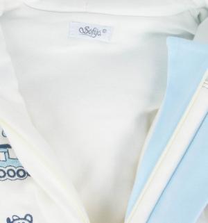 Комбинезон  Finek, цвет: белый/голубой Sofija