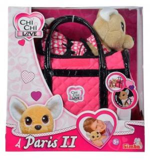 Мягкая игрушка  Paris 2 Собачка в платье 20 см Chi-Chi Love
