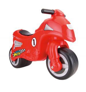 Каталка  Мой первый мотоцикл, цвет: красный Dolu