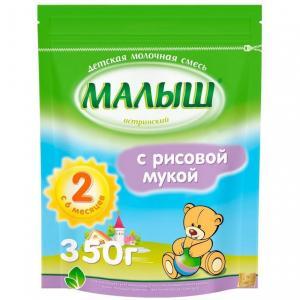 Молочная смесь  2 с рисовой мукой 6 месяцев, 350 г Малыш Истринский