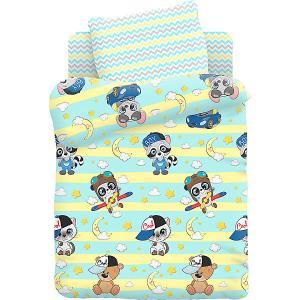 Комплект детского постельного белья  Малыши мальчики Juno. Цвет: разноцветный