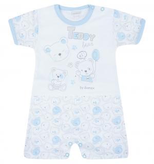 Песочник  Teddy Bear, цвет: белый/голубой Gamex
