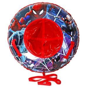 Тюбинг  Надувные сани Человек-Паук Marvel