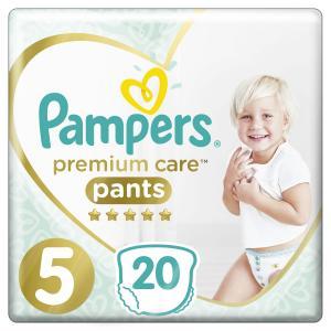 Трусики  Premium Care Pants 5 размер (12-17 кг) 20 шт. Pampers