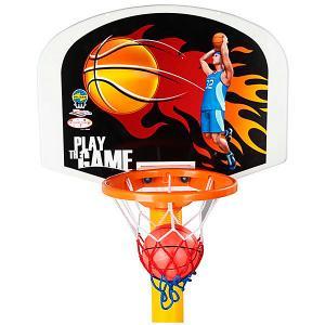Баскетбольная стойка  Basketball Set, регулируемая Pilsan. Цвет: разноцветный