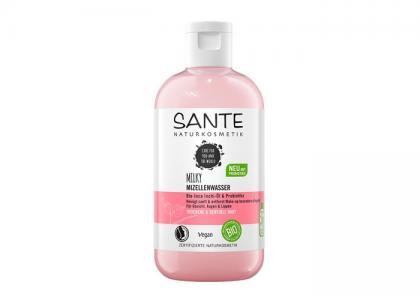 Нежная мицеллярная вода с пробиотиками и маслом инка-инчи Sante