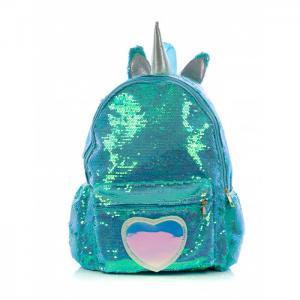 Рюкзак с пайетками Единорог сердцем Bright Dreams Mihi