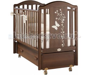 Детская кроватка  Privilege Swing продольный маятник Feretti